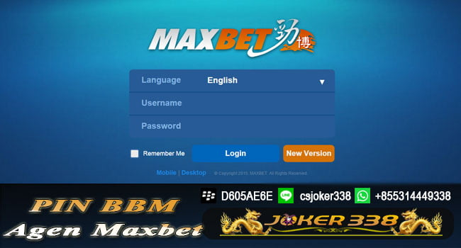Pin BBM Agen Maxbet Indonesia